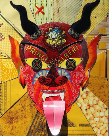 EL DIABLITO (The Red Prince) / The Devil #2 by artist Alea Bone
