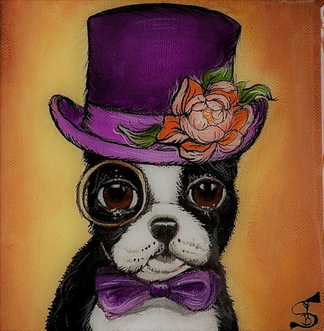 BOSTON GENTLEMAN by artist Skye Becker-Yamakawa