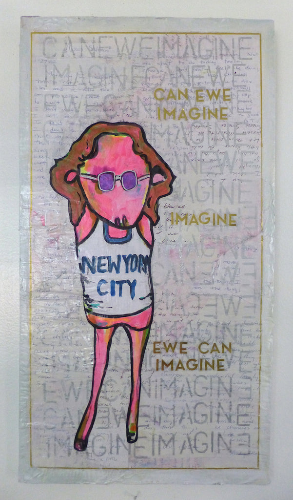 CAN EWE IMAGINE by artist Little Ricky