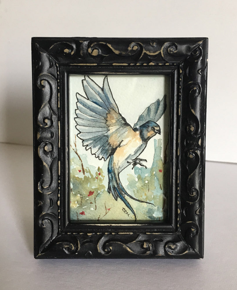#57 LA GOLONDRINA / (The Swallow) by artist Catherine Bursill Moore
