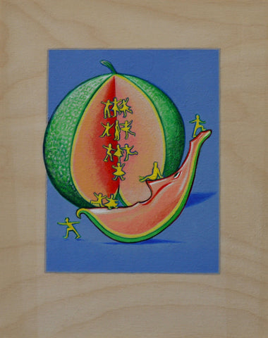 EL MELON (The Melon) #11 by artist Janet Olenik
