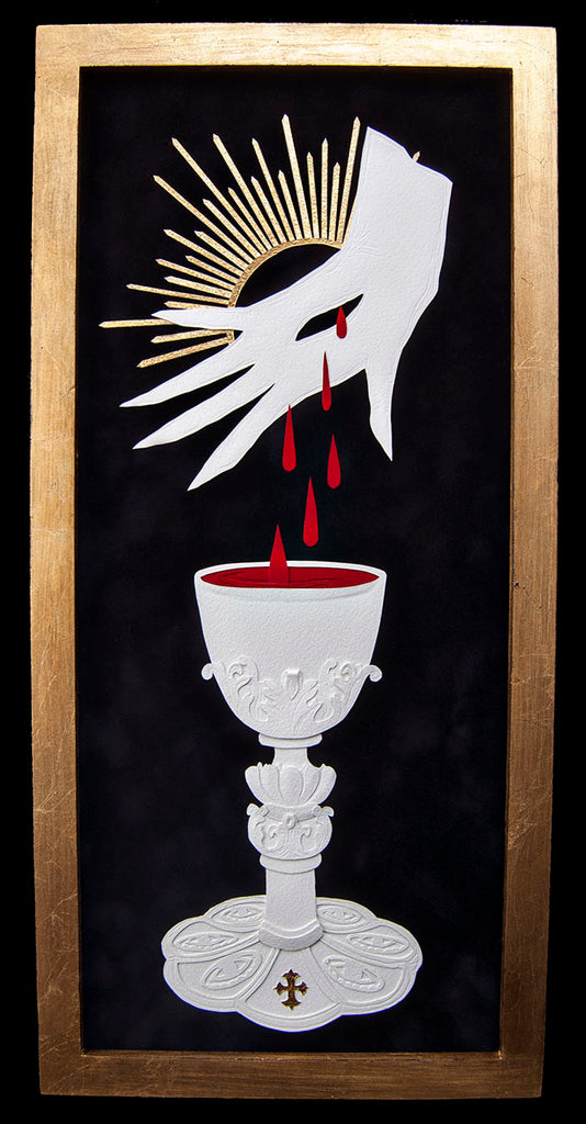 THE BLOOD by artist Ivonne Carley