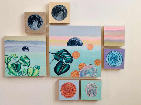 MINI MOONRISE by artist Cat Sommer