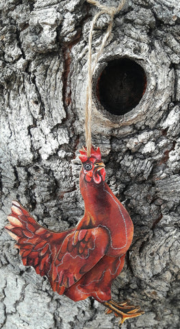 CHICKEN by artist Sarah Polzin