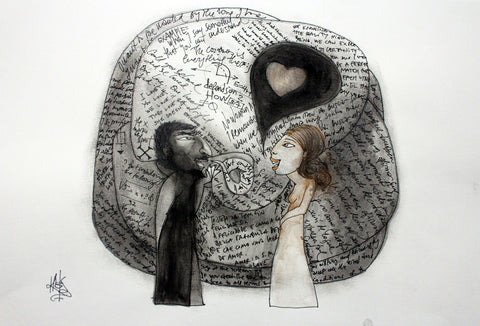The Power of Communication by artist Patricia Krebs