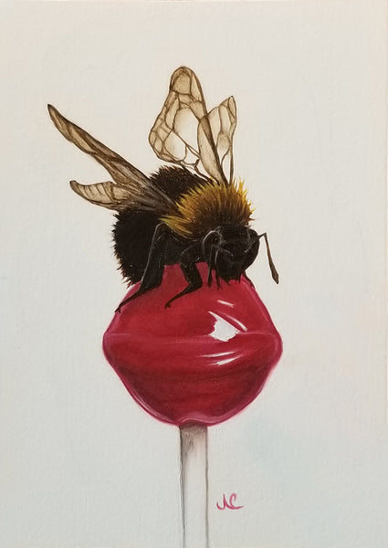 CHERRY by artist Janae Corrado