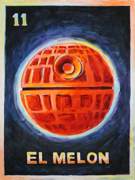 #11 EL MELON / Death Melon (The Melon) by artist Ted Meyer