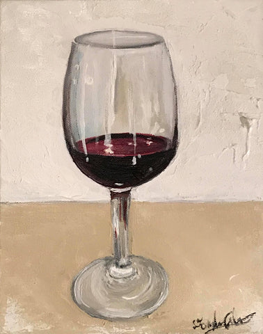 WINE O'CLOCK by artist Douglas Alvarez