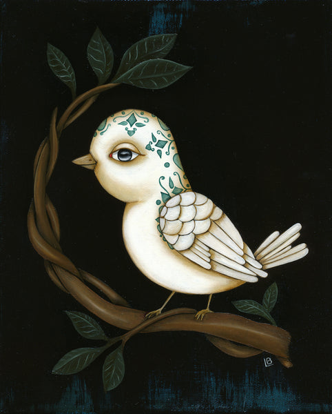 #20 EL PAJARO (The Bird) by artist Lea Barrozi