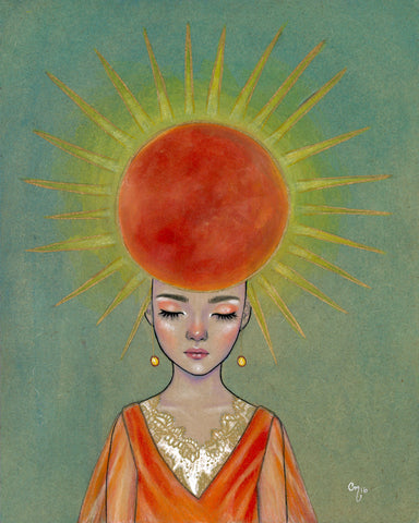 El Sol #46 (The Sun)by artist Candace McKay