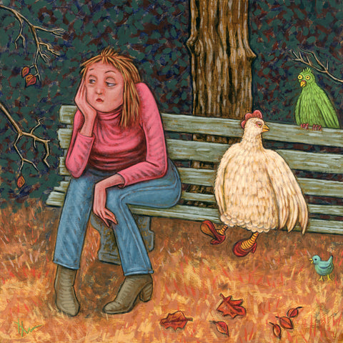 MOLTING by artist Holly Wood