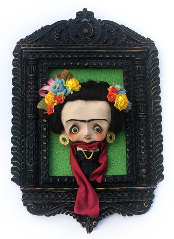 Viva La Frida by artist Nobu Happy Spooky