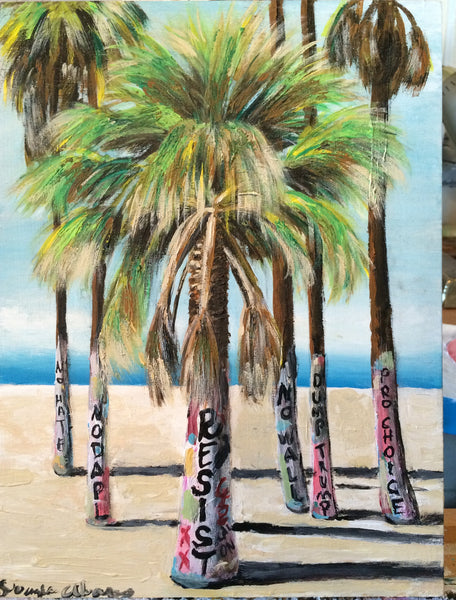 "#51 LA PALMA / ""Nasty Trees!"" (The Palm Tree) by artist Douglas Alvarez"