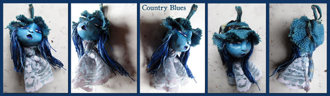 Country Blues by artist Patricia Krebs