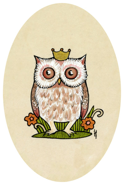 HOOT by artist Anita Inverarity