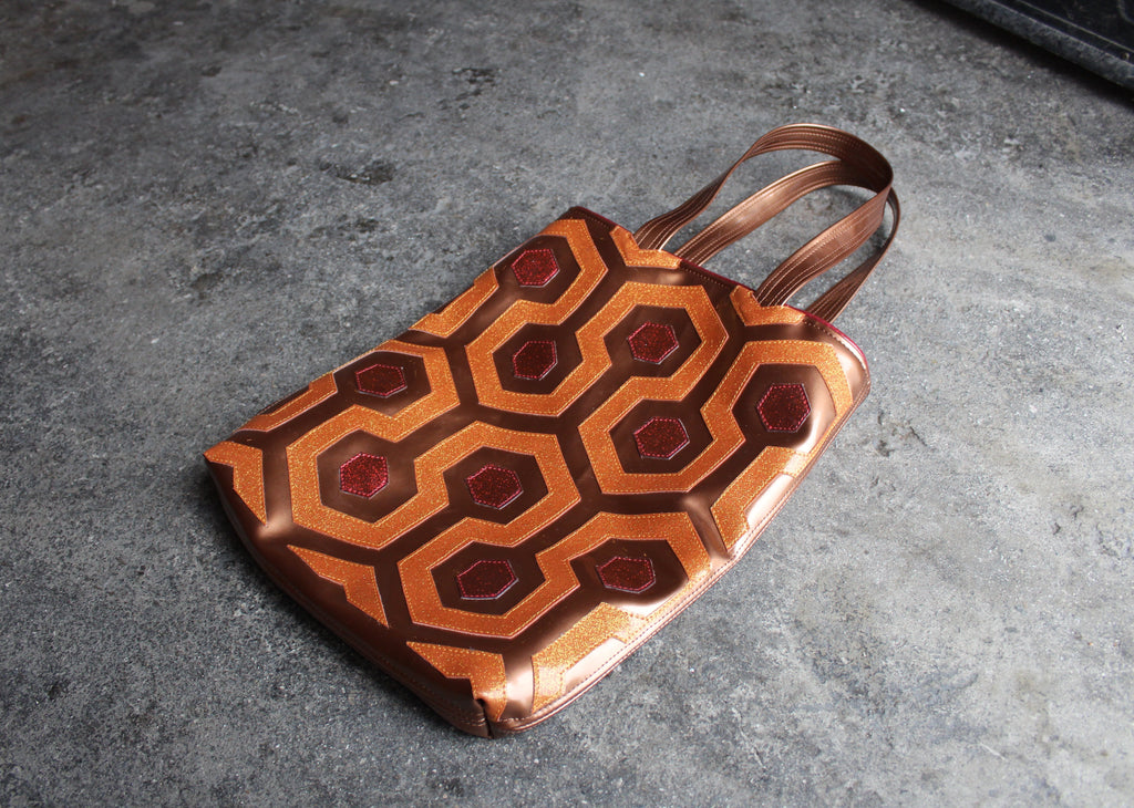 CARPET BAG by artist Lori Herbst