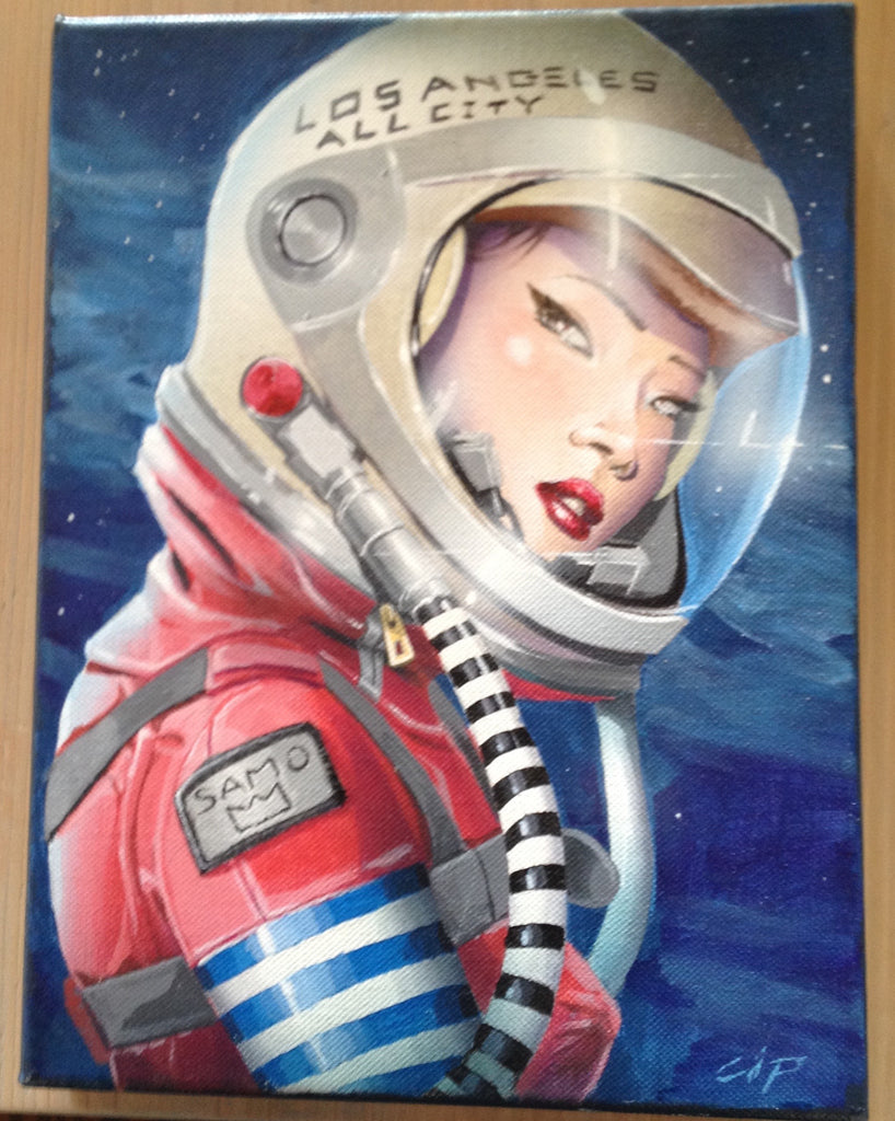 Space Cadet by artist Christopher Willingham