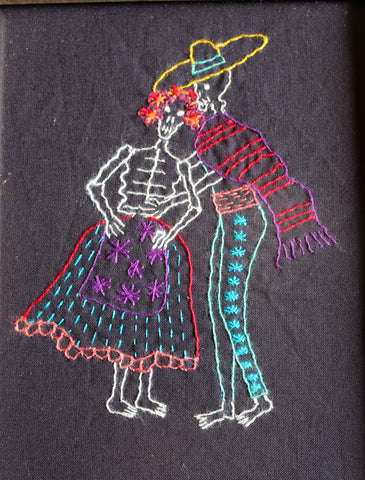 EL JARABE TAPATIO #60 (The Mexican Hat Dance) by artist Mavis Leahy