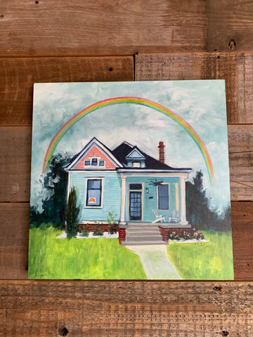RAINBOWS by artist Lacey Bryant