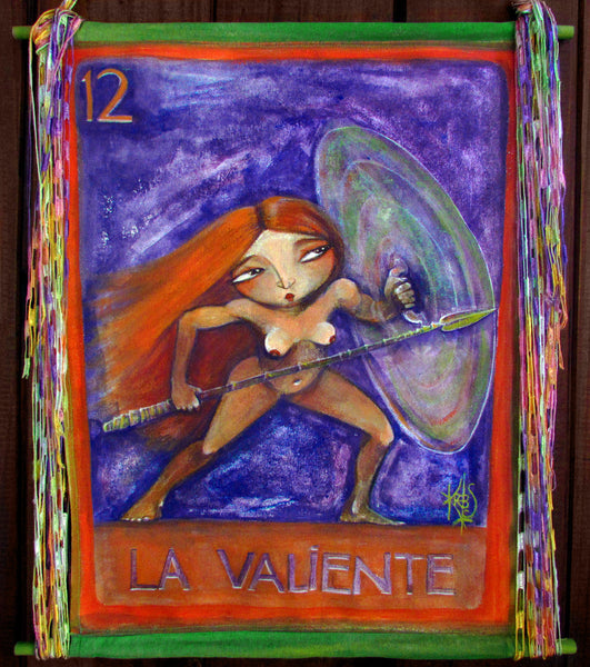 La valiente #12 (The Brave One) by artist Patricia Krebs