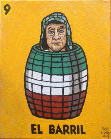 El Chavo del nueve (El barril #9, The Barrel) by artist Lalo Alcaraz