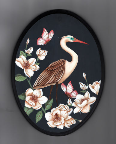 LA GARZA (The Heron) #19 by artist Lea Barozzi