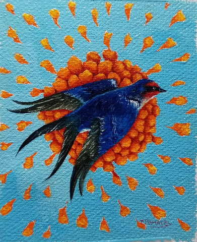 LA GOLONDRINA (The Swallow) #57 by artist Tania Pomales