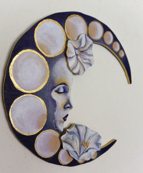 LA LUNA (The Moon) by artist Sarah Polzin