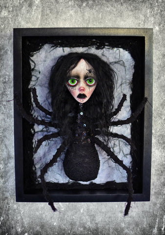 LA ARAÑA (The Spider) #33 by artist Anima ex Manus Art Dolls (Ioanna Tsouka)