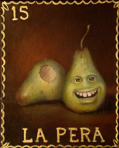 La Pera #15 (The Pear) by artist Christina Ramos