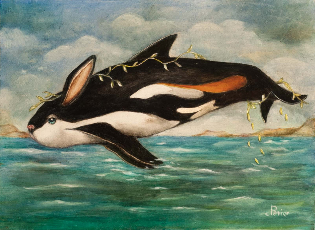 Lapin de Mer (Sea Rabbit) by artist Corine Perier