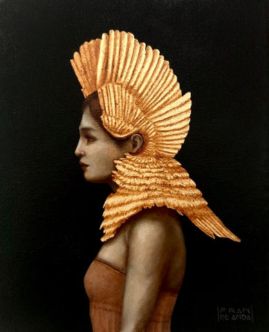 GOLDEN LEDA by artist Fran De Anda