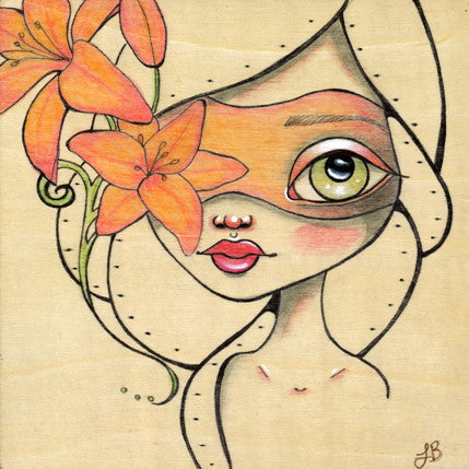"""Lily"" by artist Lea Barozzi"