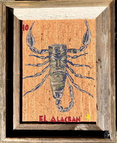 EL ALACRAN (The Scorpion) #40 by artist LORI HERBST