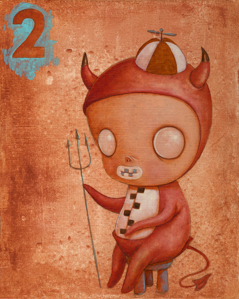 No. 2 (El diablo #2/The Devil) by artist Kathie Olivas