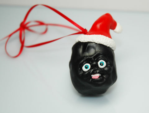 LUMP OF COAL ORNAMENT by artist Corina St. Martin