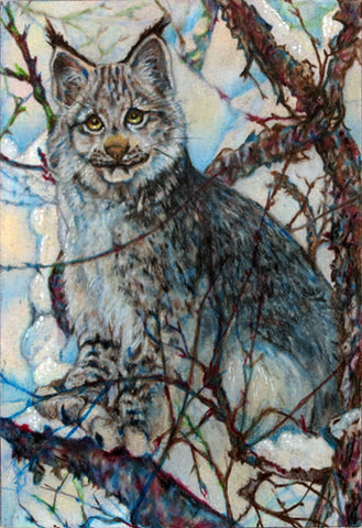 LYNX by artist Annette Hassell