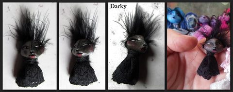 Darky Mini by artist Patricia Krebs