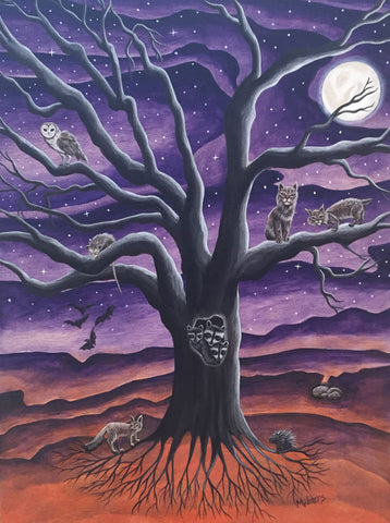 EL ARBOL #10 (The Tree) by artist Michelle Waters
