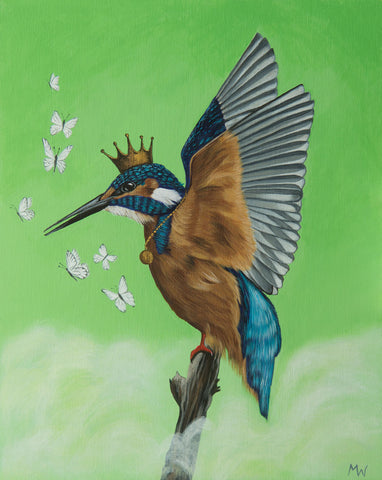 KINGFISHER by Michelle Waters