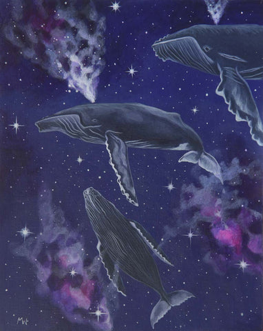 FROM STARDUST TO SEA by artist Michelle Waters