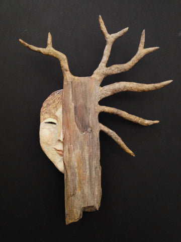 METSÄNNEITO (Forest Maiden) by artist Ulla Anobile