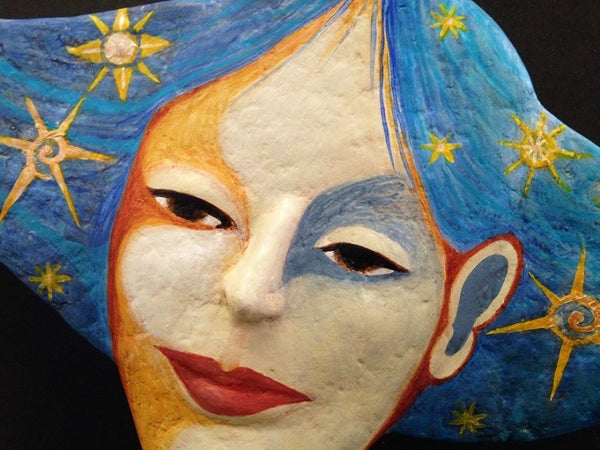 MOON THOUGHTS, STAR DREAMS by artist Ulla Anobile