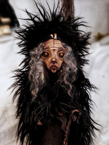 Greek Pagan Folktales: Μόρα/ Móra by artist Anima ex Manus Art Dolls