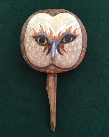 OWL MASK 8 by artist Ulla Anobile