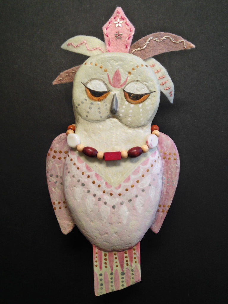 """Owl Princess"" by artist Ulla Anobile"