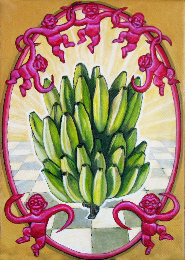 #67 LOS PLATANOS (The Plantains) by artist Annette Hassell