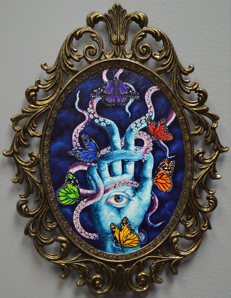 HAND OF CREATION by artist Tania Pomales