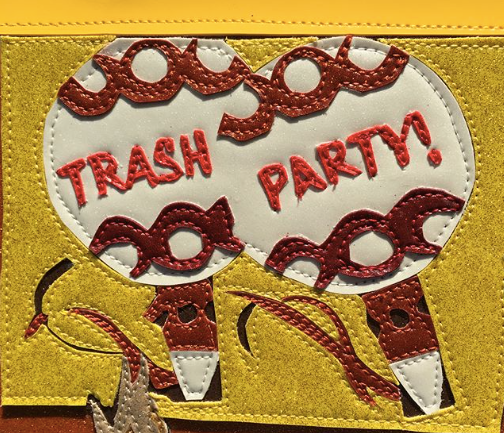 TRASH PARTY by artist Lori Herbst
