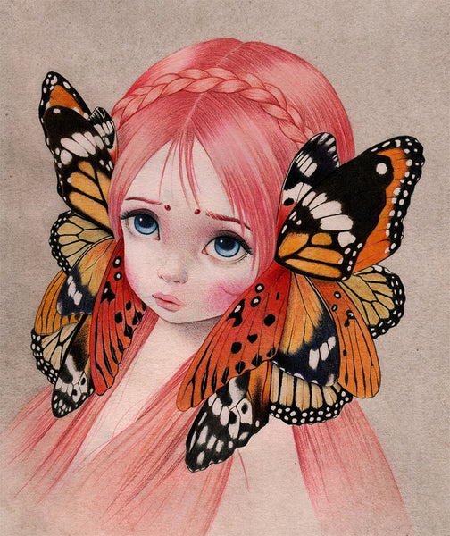 Springtime of the Butterfly by artist Raul Guerra